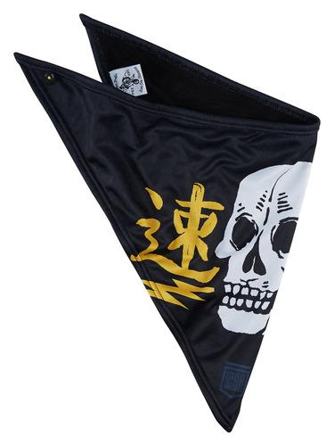 pañuelo icon highway calidad negro/amarillo os