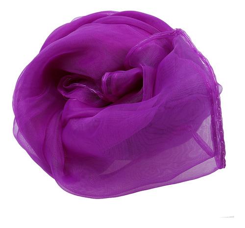 pañuelo largo de fricción bufanda de gasa del cuello del