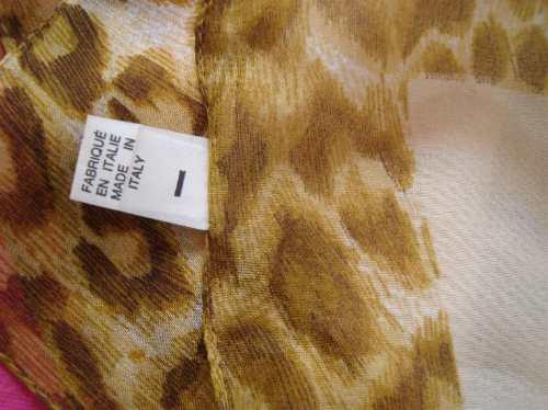 pañuelo pashmina italiano animal print  envio gratis-cuotas!