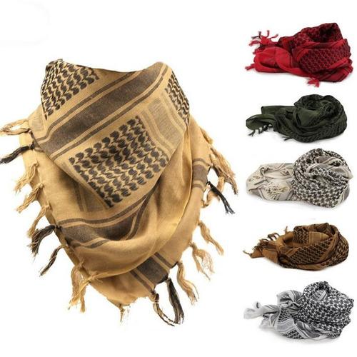 pañuelo shemagh tactico  100 % algodón - usa