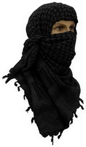 pañuelo shemagh tipo palestino multiuso 100% algodón