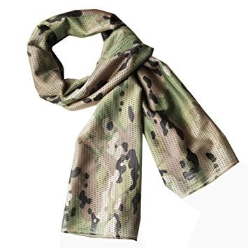 pañuelo táctico militar multicam - 100% algodón