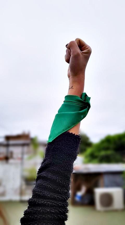 6e5362c565 Pañuelo Verde De Mano Que Sea Ley Campaña Aborto Legal -   50