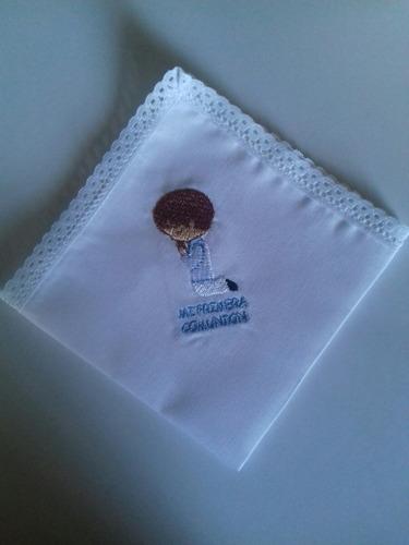 pañuelos bordados para primera comunión