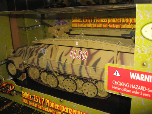 panzer aleman hanomag sdkfz251 1/18 ultimate soldier gijoe