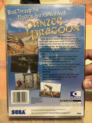 panzer dragoon.   original sega saturn