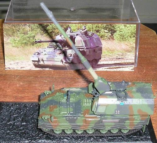 panzerhaubitze 2000 tanque blindado aleman escala 1:72