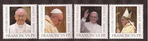 papa francisco vaticano serie completa mint
