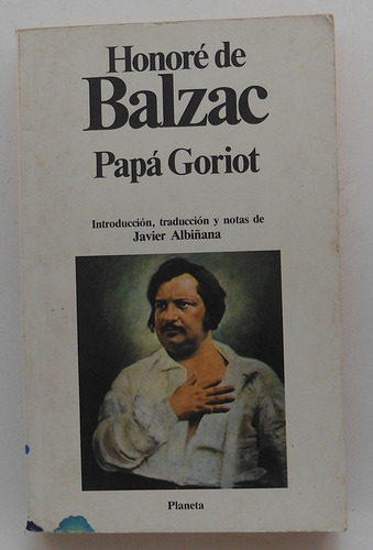 papá goriot / honoré de balzac