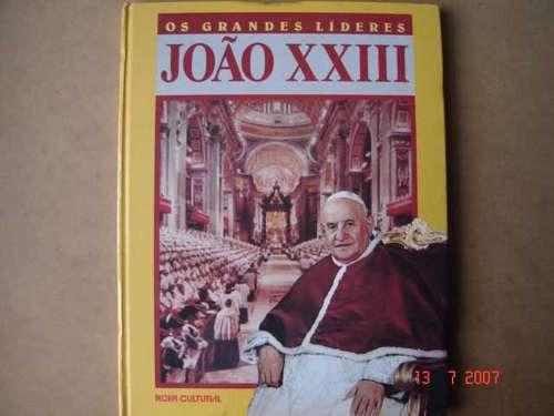 papa joão xxlll   os grandes líderes  capa dura