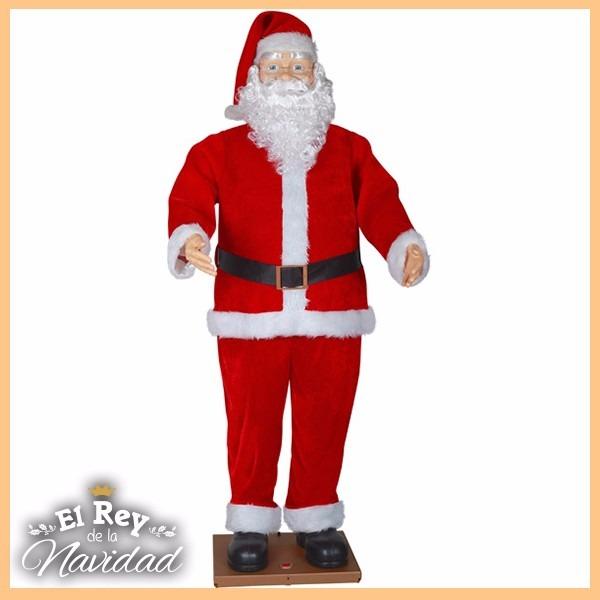 Imagenes De Papanoel En Movimiento.Papa Noel Navidad 1 80m Musica Movimiento Unicos En El Pais