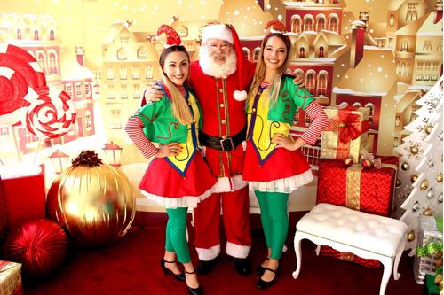 papa noel navidad duendes navideños decoracion