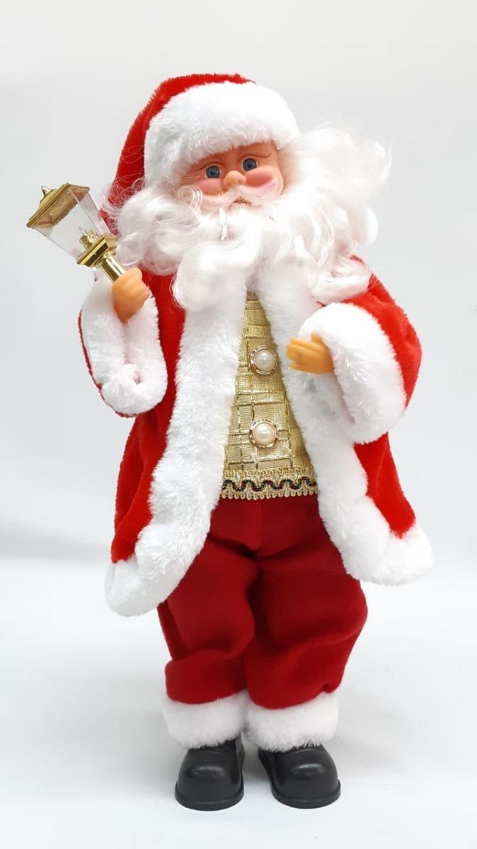 Imagenes De Papanoel En Movimiento.Papa Noel Rojo Movimiento 50 Cm 31254 Sheehu Navidad