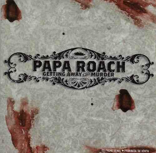 papa roach  getting away with murder  cd sencillo raro