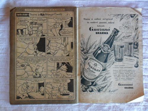 papai noel nº 27! 1ª série! jun 1954! ebal!
