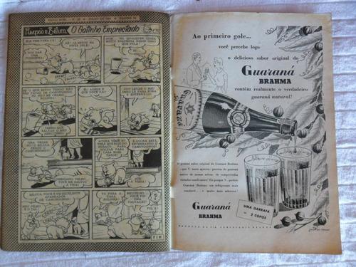 papai noel nº 28! 1ª série! jul 1954! ebal!