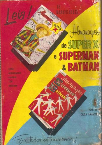 papai noel nº 61 tom & jerry extra - original de nov - 1956