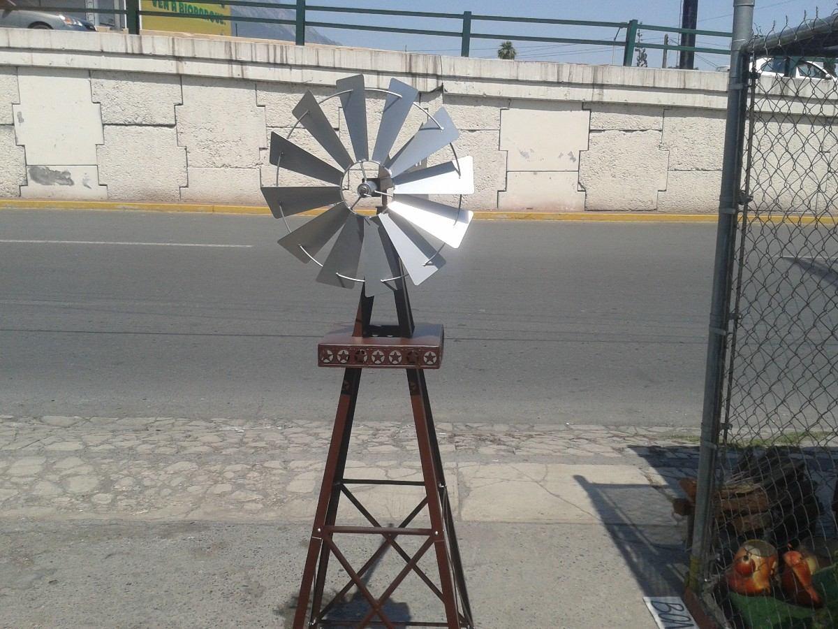 Papalote adorno para jardin rehilete veleta 1 600 for Piscina un molino de viento y una sombrilla
