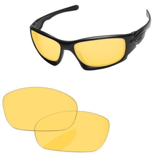 2bf3f1c671 Papaviva Cristal Amarillo Recambio Para Oakley X Diez Gafas ...
