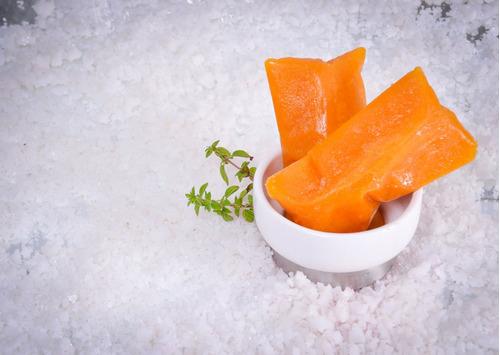 papaya en pulpa congelada - 1 kg
