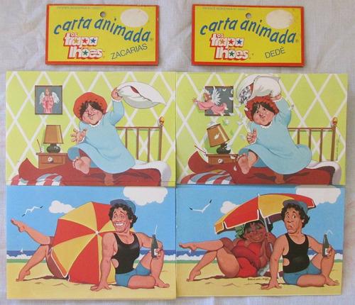 papéis lacrados  carta animada  trapalhões dedé e zacharias