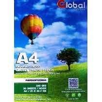 papel a4 autoadhesivo glossy fotografico 135grs 20 hojas