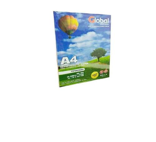 papel a4 transparente acetato sticker 120 gr x 10 hojas