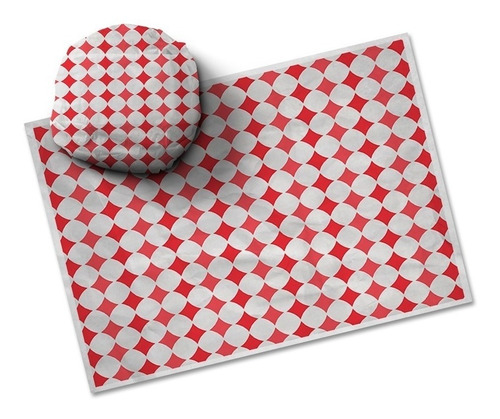 papel acoplado - hamburguer burguer burger frios 500 unds.