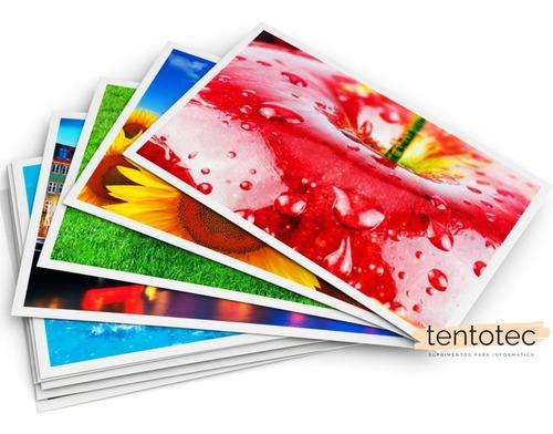 papel adesivo a4 glossy 115g prova dàgua 100 folhas + brinde