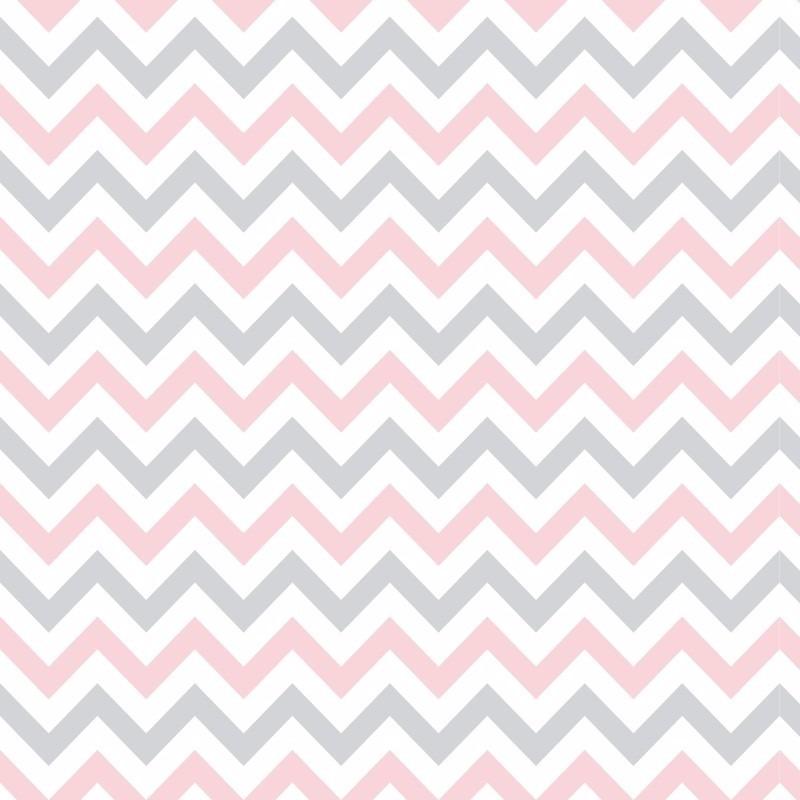 papel adesivo contact chevron rosa e cinza zig zag