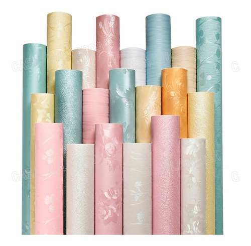 papel adesivo contact de parede lavável engrossado 3m*60cm