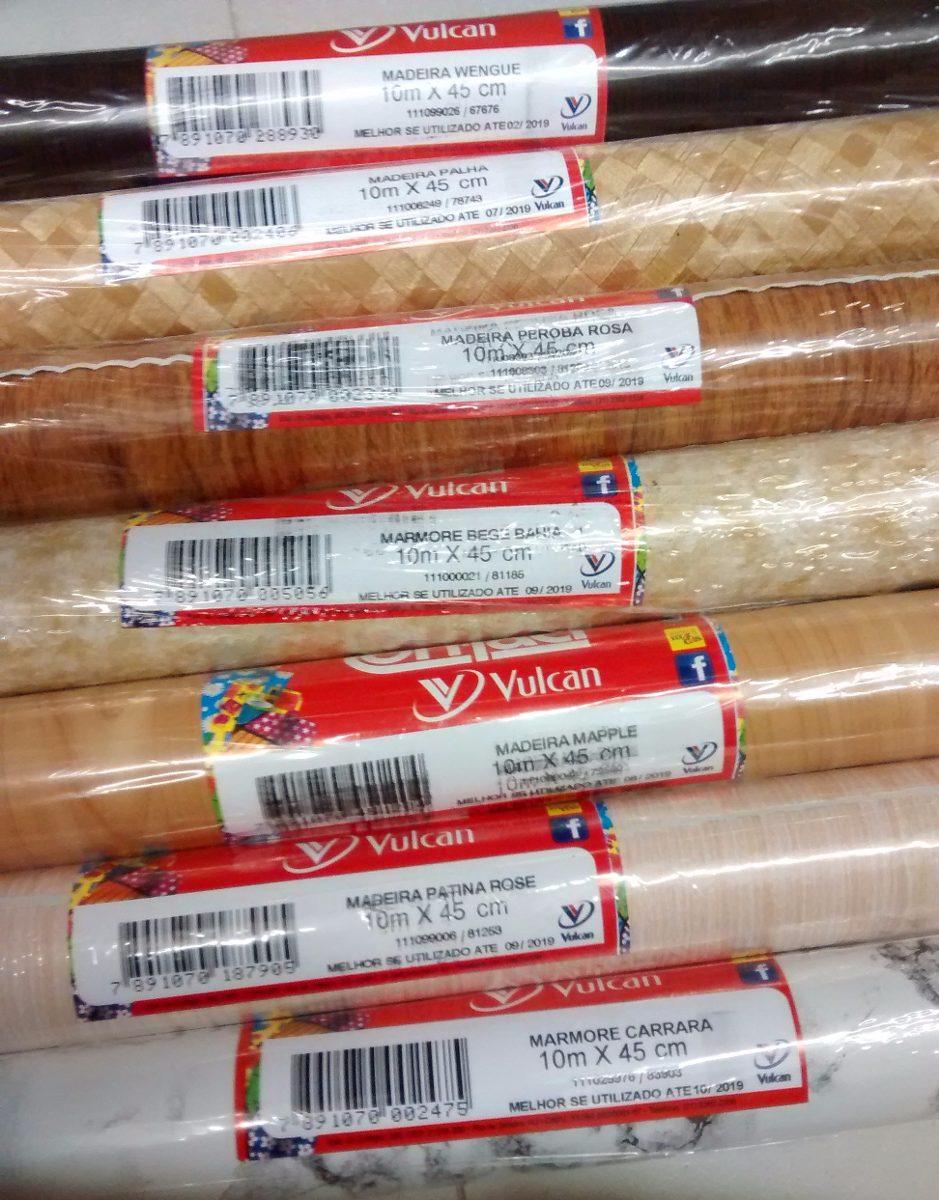 Armario Lavadora Exterior ~ Papel Adesivo Contact Madeira Palha Original Vulcan 45cmx10m R$ 71,90 em Mercado Livre