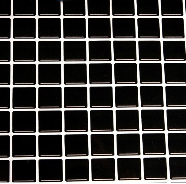 e9896fc5a Papel Adesivo Contact Pastilha Vitrificada Preta 45cm X 10mt - R  74 ...