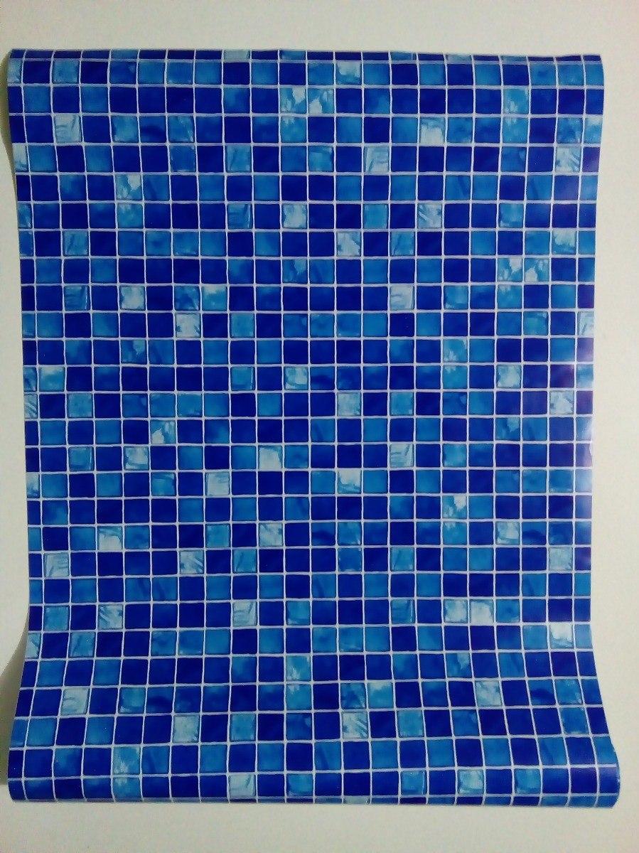 2d74d8826 papel adesivo contact pastilhas azul 45cmx10mt lavavel plavi. Carregando  zoom.