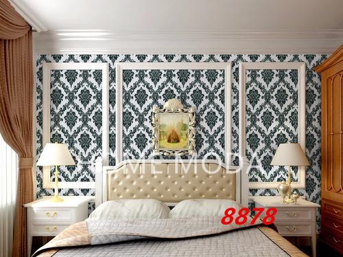 papel adesivo de parede lavável tijolo arabesco 10m x 45cm