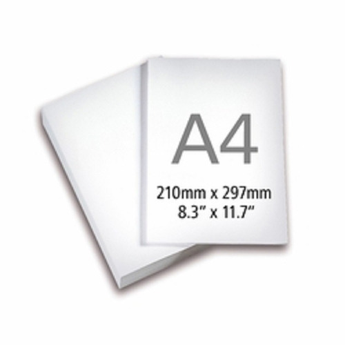 papel adesivo fosco a4 195 grs.c/100 folhas p/inkjet e laser