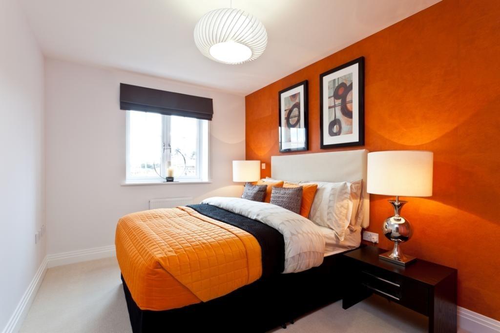 Papel adhesivo empapelar naranja lavable 1 mtx 122cm for Paredes naranja y beige
