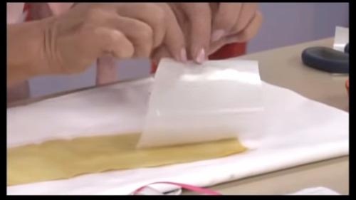 papel adhesivo p/ telas, manualidades tela y otros