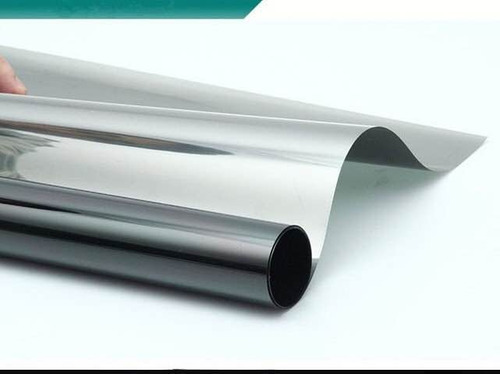 papel ahumado cromo 3% o espejo negro 1.50 de ancho p x metr