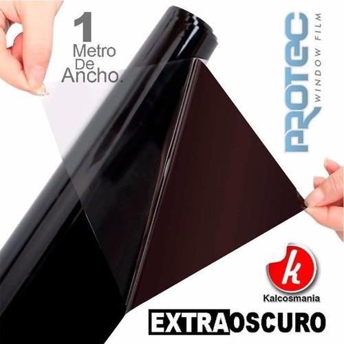 papel ahumado por metro y bobina  negro oscuro 1%