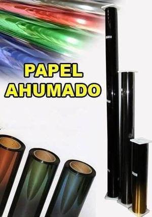 papel ahumado,calcomanía,vinil textil,instalación