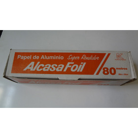 Papel Aluminio 80 Mts (leer Descripción)