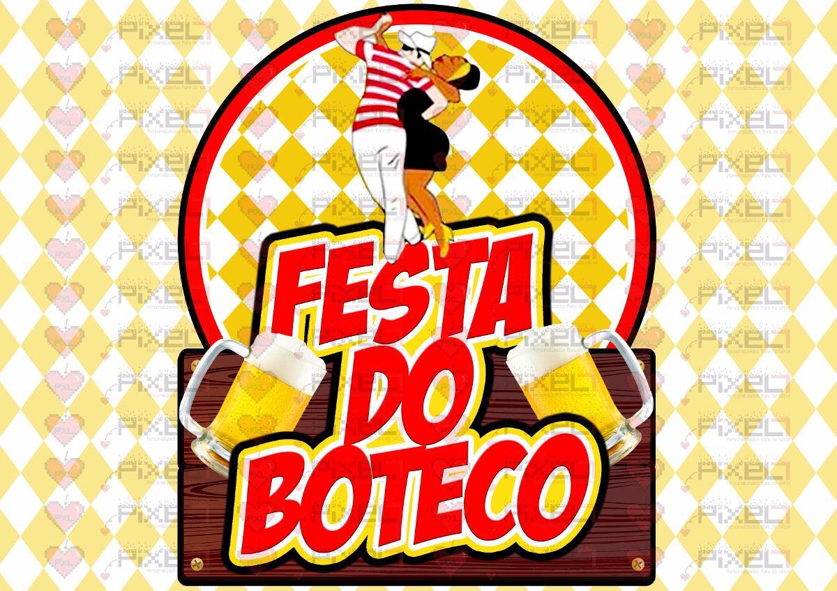 Tapetes Artesanato Mineiro ~ Papel Arroz + Faixas Laterais Tema Festa Do Boteco R