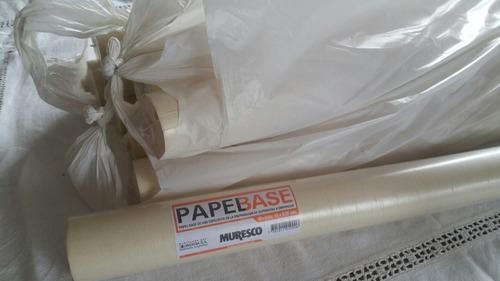 papel base para empapelar paredes.
