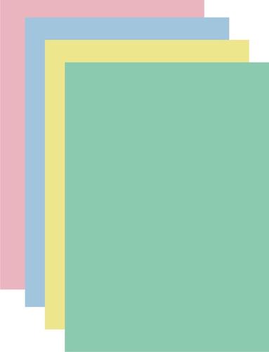 papel bond de colores a4