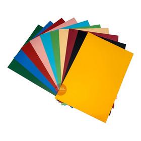 Papel Color Plus A4 180g Massa Colorida 50 Un. Várias Cores