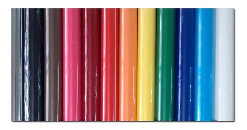 papel contac autoadhesivo colores lisos rollos de 0.45x10mts
