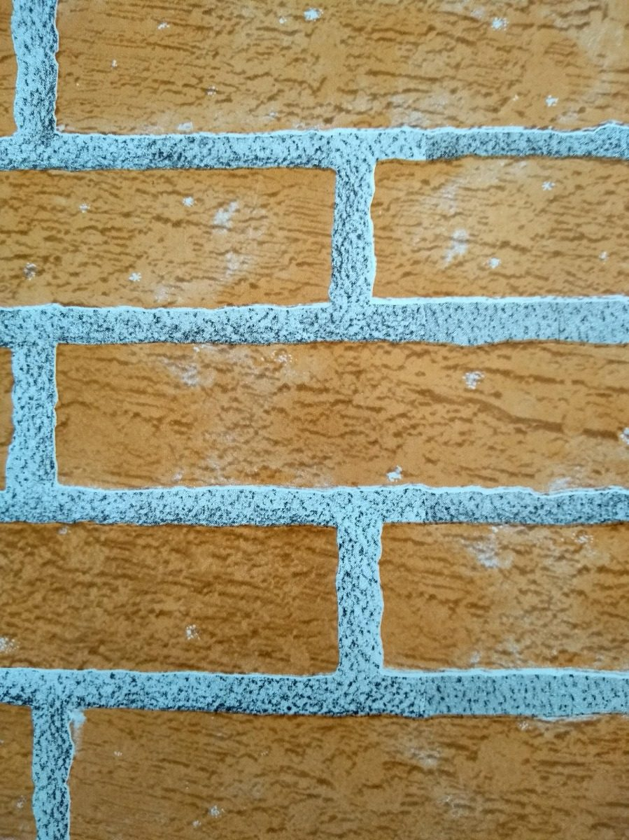 44a55fc9e papel contact tijolinho tijolo colonial vulcan 5m x 45cm. Carregando zoom.