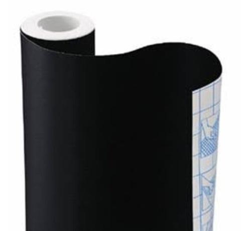 papel contact vinitac preto 45cm x 10 metros,