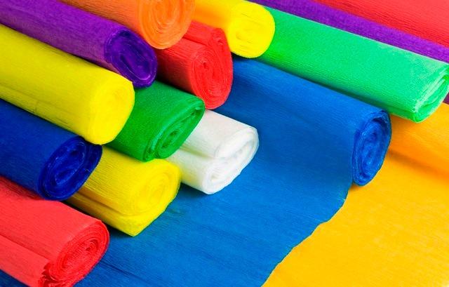 Papel crepe bs en mercado libre for Manualidades con papel crepe